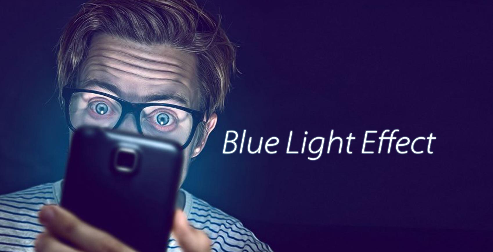 Lumina albastră